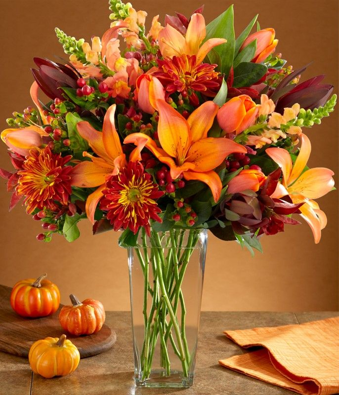 25 best ideas about autumn flowers on pinterest autumn for Autumn flower decoration