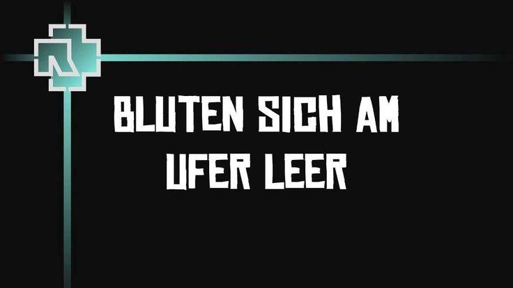 Rammstein - Reise, Reise (Lyrics)
