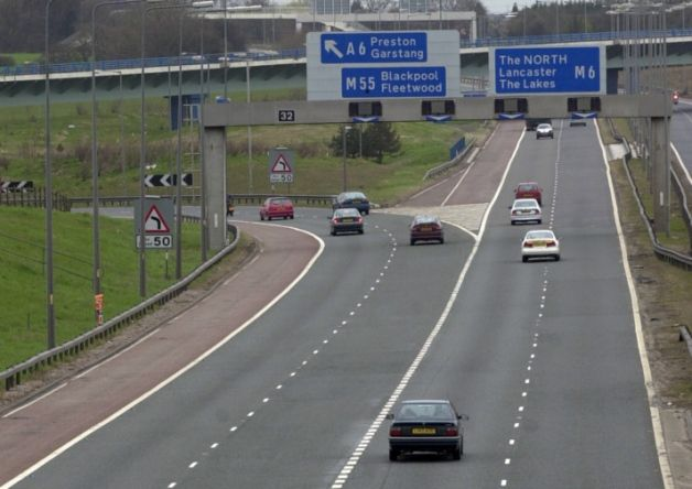 The major motorway route into Blackpool will face overnight closures as roadworks are carried out to reduce congestion at one of Lancashire's worst traffic hotspots