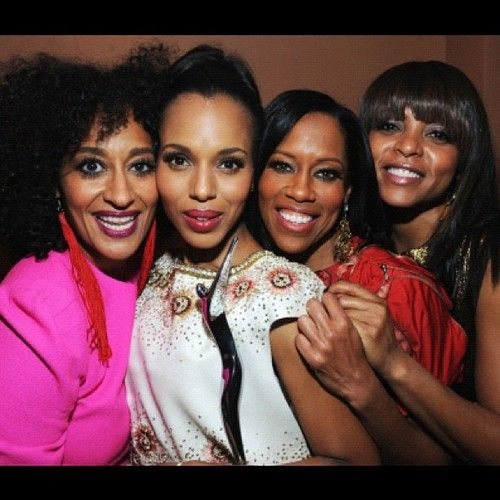 Tracee Ellis Ross, Kerry Washington, Regina King and Taraji P Henson