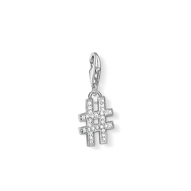 """Charm pendant """"#"""" – 1249 – Charm Club – THOMAS SABO"""