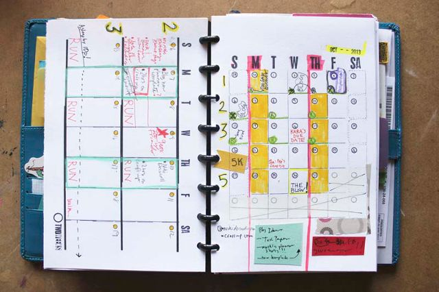 How To Create A Custom Planner To Meet Your Goals In 2015 | Make Use Of