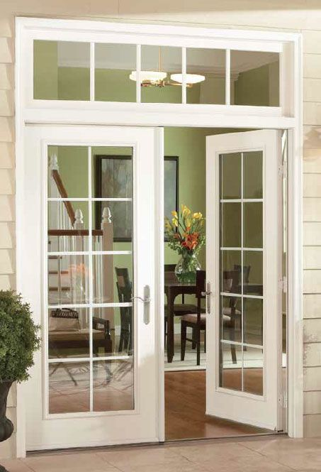 17 best ideas about french doors patio on pinterest for Sliding glass door to french door