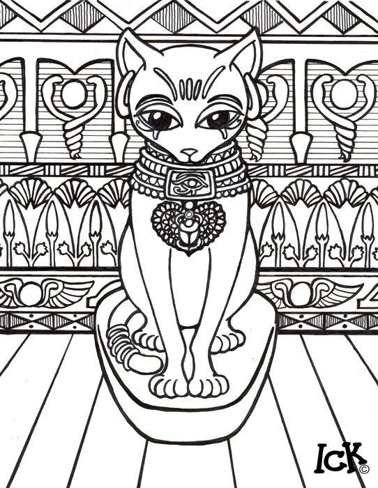 209 best Art: Cat Coloring images on Pinterest