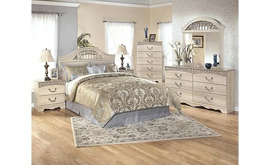 Catalina panel bedroom set la living pinterest in for Affordable furniture alexandria louisiana