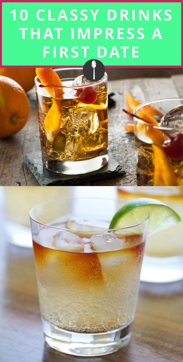 10 Classy Drink Orders That Are Sure to Impress on a First