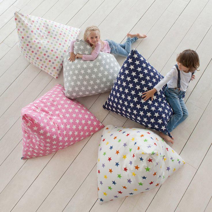 Pyramid Bean Bag for Kids - Chairs & Bean Bags - Furniture