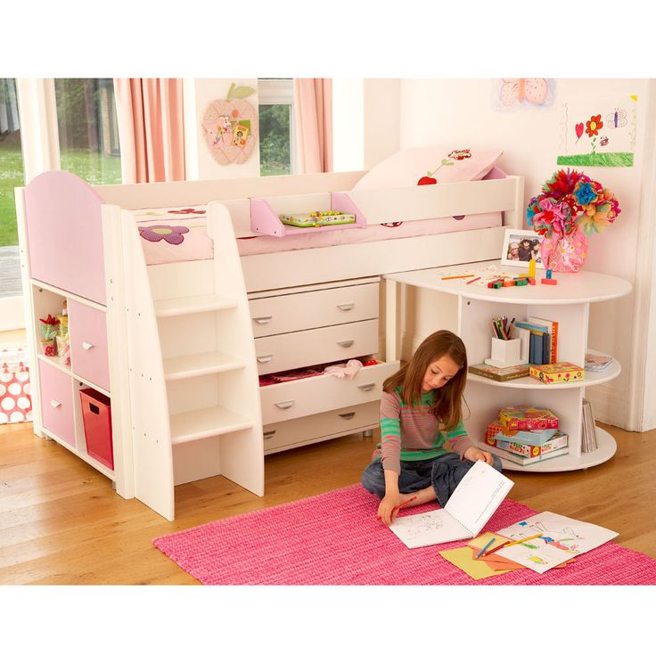 Om'gawsh. Since my girlie will probably always have the smallest room with two boys in the other one -- this sort of thing would be AWESOME for her space.