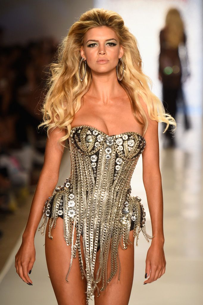 Kelly Rohrbach Photos: TRESemme at Beach Bunny Featuring The Blonds Mercedes-Benz Fashion Week Swim 2015 - Runway