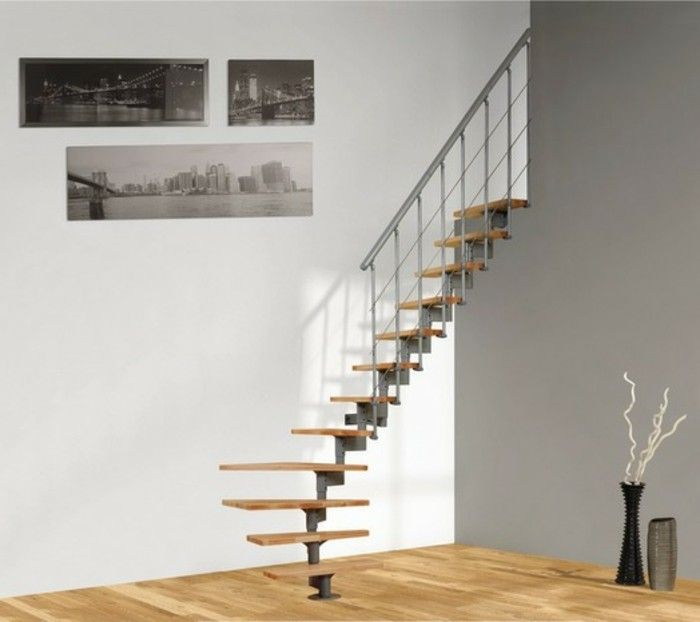 les 25 meilleures id es de la cat gorie escalier gain de. Black Bedroom Furniture Sets. Home Design Ideas