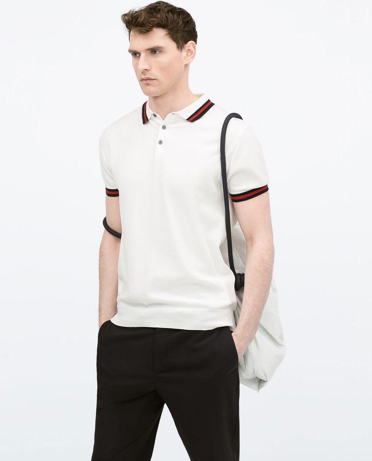 ZARA - MAN - Short sleeve polo shirt