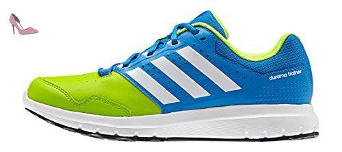 adidas Duramo Trainer, Chaussures de Running Entrainement Homme, Multicolore (Shock Blue/Ftwrr White/Semi Solar Slime), 42 2/3 EU - Chaussures adidas (*Partner-Link)
