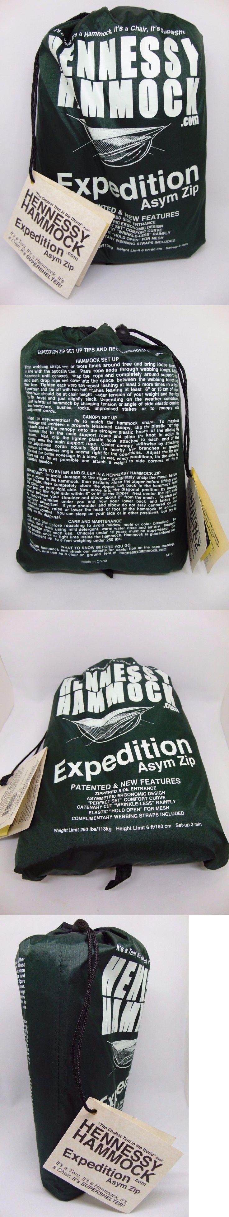 Hammocks 159030: Hennessy M-16 Expedition Asym Zip Camping Hammock New! -> BUY IT NOW ONLY: $143.2 on eBay!