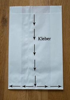 Eine schnelle DIY Anleitung zum Butterbrottüten-Stern. Perfekt für die Weihnachts- oder Hochzeitsdeko.