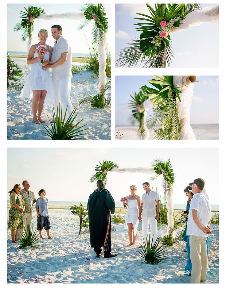 69 best beach wedding and wedding ceremony decoration images on simple bamboo arch with fresh greenery wedding ceremony decorationswedding junglespirit Choice Image