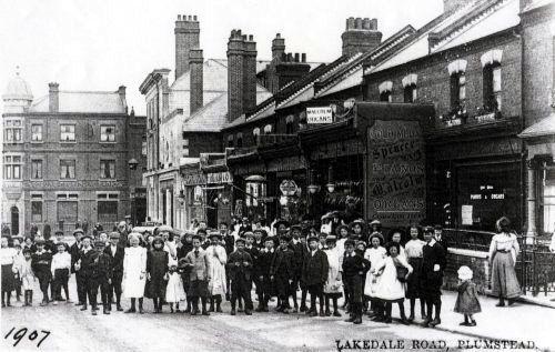 Lakedale Road, Plumstead,1907