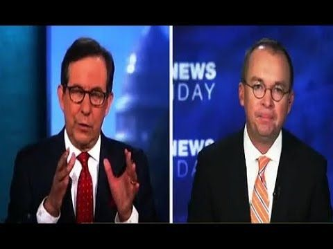 10.01.17 Chris Wallace Grills Mick Mulvaney  about tax cuts (10/01/17)