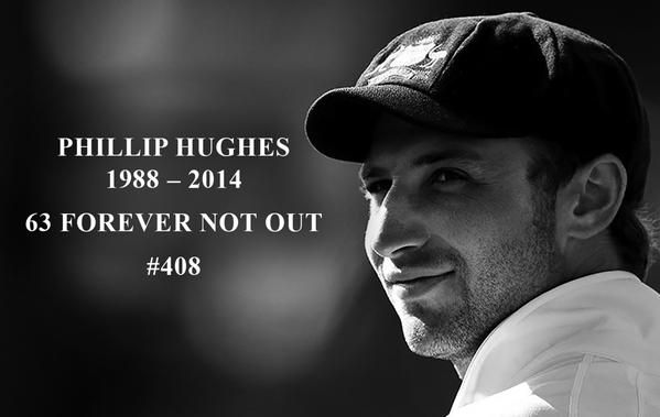 Phil Hughes - RIP mate, we're still grieving