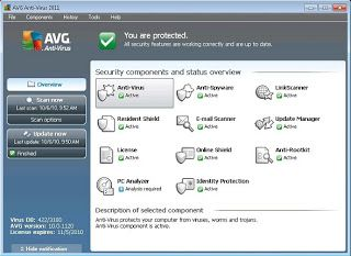 AVG Anti-Virus Pro 2011 ~ Software | Free Software Download | Software Reviews | Application Software