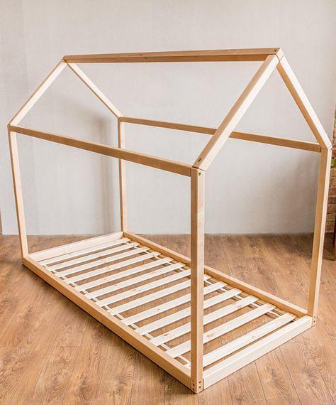 Cama Montessori cama para niños cama casa muebles para niños