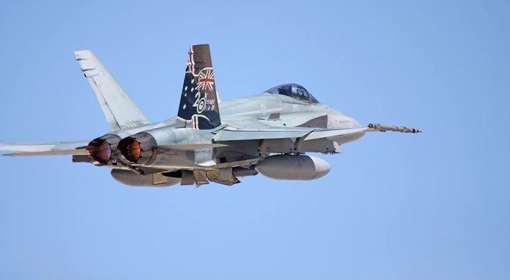 Royal Australian Air Force McDonnell Douglas F/A-18A Hornet A21-47 (S/N: 0741/AF047) at Nellis AFB, Operation Red Flag PHOTO: Christopher Ebdon, AV8PIX