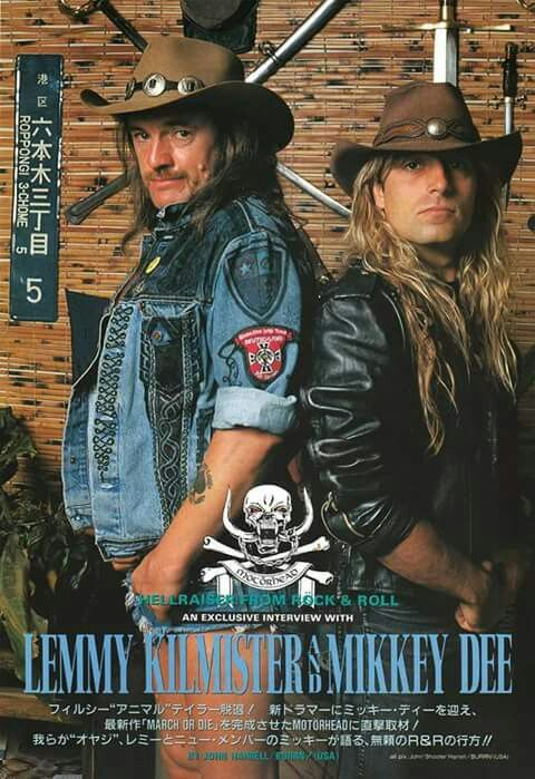 Lemmy Kilmister/Mikkey Dee