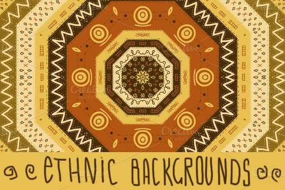 Check out Ethnic African Seamless Background by Depiano on Creative Market