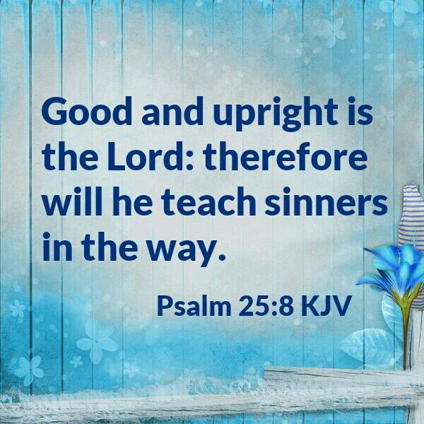 Psalm 25:8