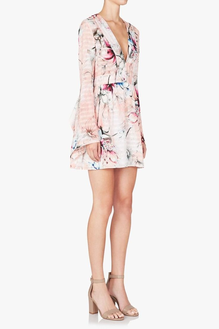 Sass and Bide - Perfect Spaces Print Mini Dress