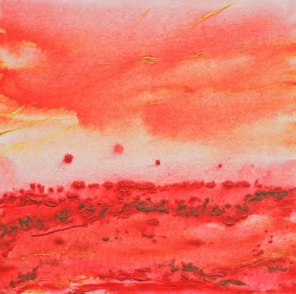 """Kalahari Desert Storm"" by Melanie Meyer from her Emergence Art Gallery in Cape Town"