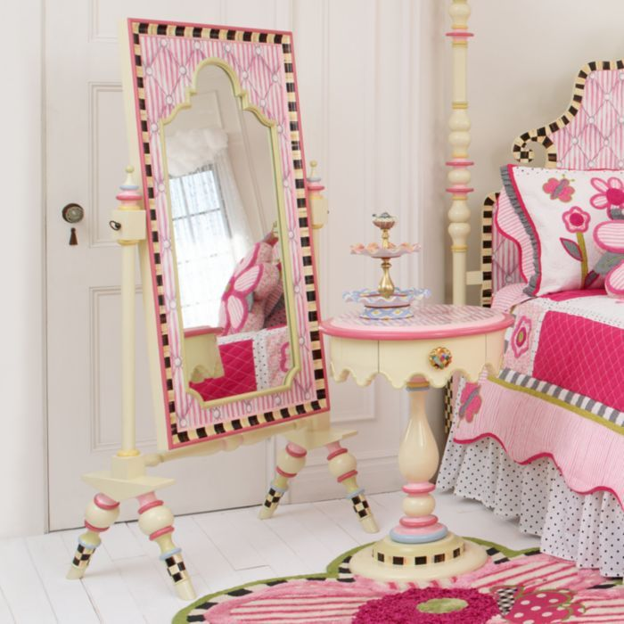 mackenzie childs rosie sweet dress up mirror children