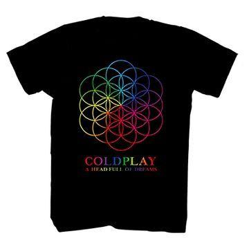 Coldplay® Men's Head Full of Stars Tee Shirt