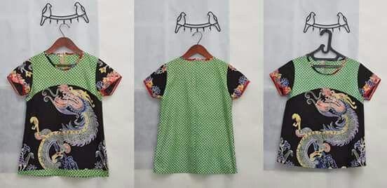 blouse gendongan batik cap
