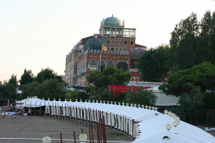 Lido di venezia hotel Excelsior!