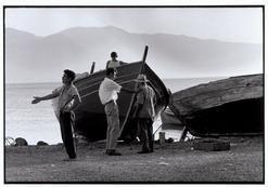 "Greece.  Chalkidiki.  Nea Moudania.  1964.  By the sea. ""A Greek Portfolio""  p.39 © Costa Manos/Magnum Photos"