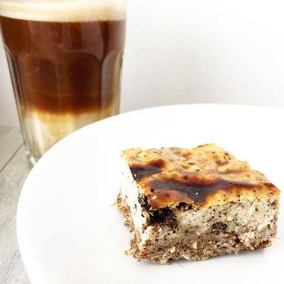 koffie cheesecake