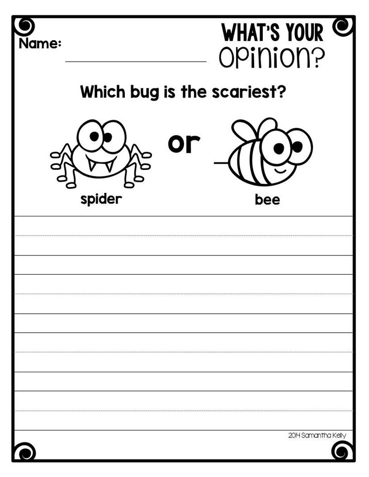 Tons of opinion writing activities and templates