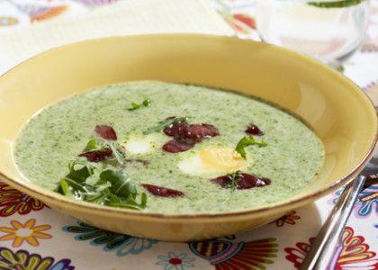 Rucolasoppa med ägg och chorizo | MåBra - Nyttiga recept