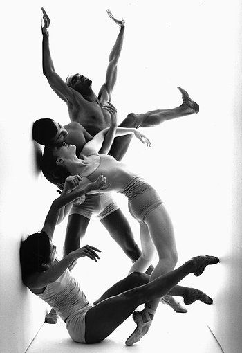 Complexions Contemporary Ballet... would love to print this on highgloss glass and put it in the living room