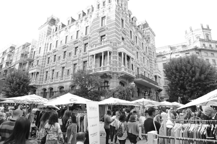 Street market Barcelona