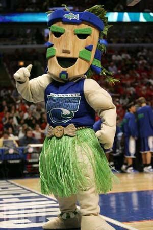 Izzy the Islander- Texas A & M University, Corpus Christi-not football but one of my mascots