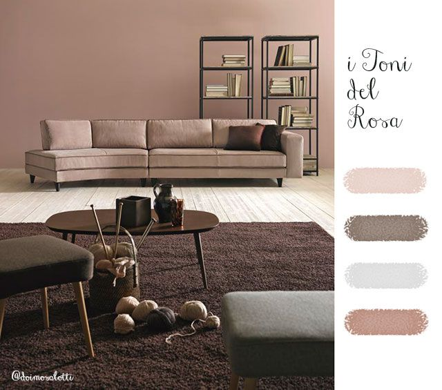 Scegliere il #colore per la #parete: i toni del #rosa.