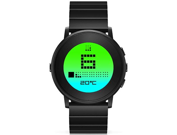 TTMM is a watchface collection for pebble smartwatches that displays a simple and minimalist combination of digits and abstract infographics.