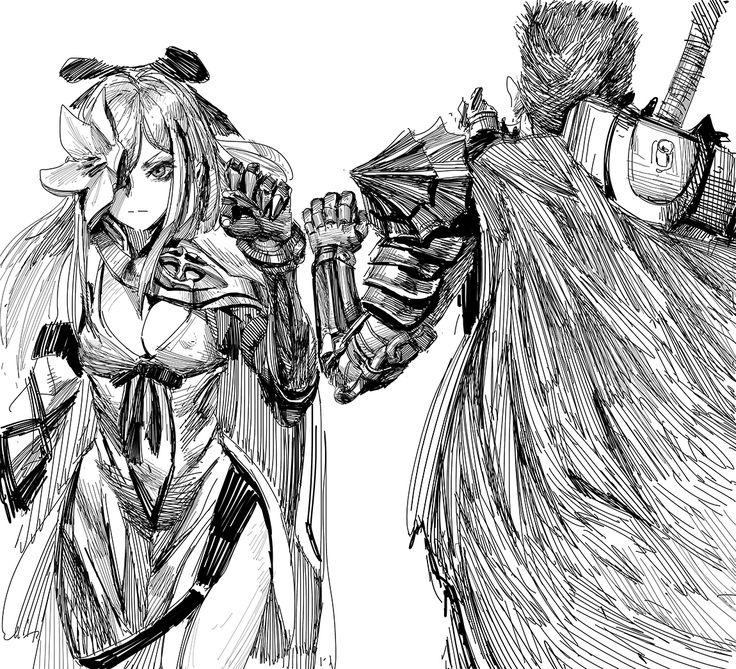 Zero & Guts , Drakengard x Berserk by Drakengard 3 in
