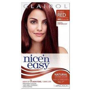 Nice n Easy 4BG Natural Permanent Dark Burgundy