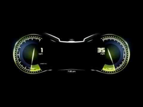 SMendoza - Morphing Instrument Cluster Rough Concept - YouTube