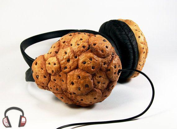 Cookie handmade headphones