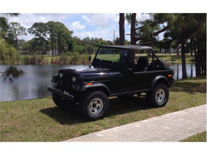 1976 Jeep CJ7 for Sale | ClassicCars.com | CC-527411