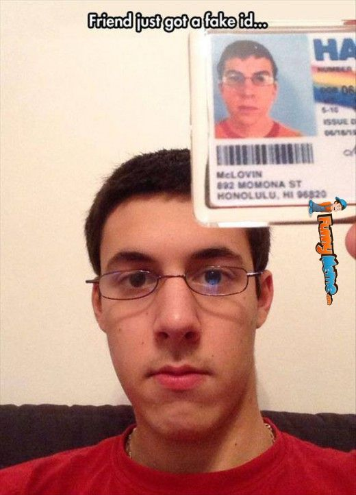 how to take a photo for a fake id