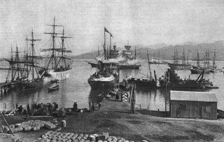 Old Batumi harbour photo